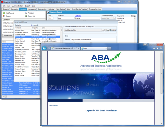 advanced business applications aba pty ltd personalised mail